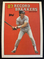 1988 Toppe Benny Santiago Record Breakers San Diego Padres Baseball Card