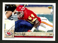 Tracy Simien #451 signed autograph auto 1992 Upper Deck Football Trading Card
