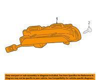 Chevrolet GM OEM Cruze Daytime Running Light Fr-Daytime Run Lamp Left 42340862