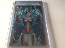 Michael Turners Fathom Blue Descent 0 Cgc 9.8 Scott Clark Schwartz Aspen Comics