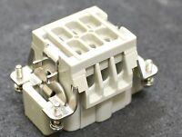 HARTING 5 Stück Buchseneinsatz HAN 6E ISK-STI-C 09330062602 01 Kontakteinsatz