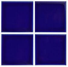 1 SAMPLE 3x3 Gloss Cobalt Blue Tile for Countertop Backsplash Pool Sink Bathroom