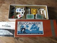 Buccaneer board game. Vintage.