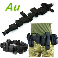 Adjustable Belt Military Tactical Waist Bag Pouch Sets Sports Army Patrol