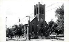 c1940 RPPC Postcard; St. Patrick Catholic Church, Rochelle IL Ogle County A192A