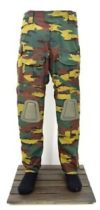 Belgian Army Jigsaw G3 Warrior Combat Trouser With Knee Pads Hard Knee Tactical
