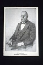 Il medico tedesco Robert Koch