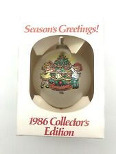 1986 Collector's Edition Campbell's Soup Kids Decorating Christmas Tree Ornament