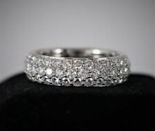 Handmade Round Not Enhanced Fine Diamond Rings