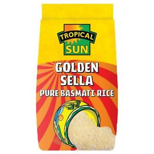 Tropical Sun Golden Sella Rice 10kg The best rice in the world! FREE SHIPPING