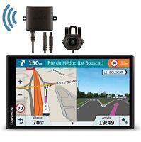 "GPS 7"" Garmin Camper 770 LMT-D + Caméra De Recul Spécial Camping Car"