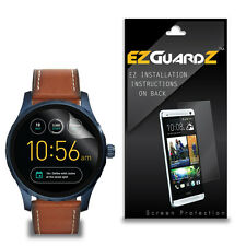 4X EZguardz NEW Screen Protector Cover HD 4X For Fossil Q Marshal 45mm