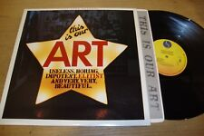 The Soup Dragons - This Is Our Art  - LP Record   VG+ EX