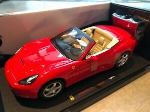 Ferrari California Hot Wheels Elite 1/18