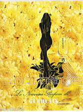 PUBLICITE ADVERTISING 065  1970  GUERLAIN   parfum CHAMADE