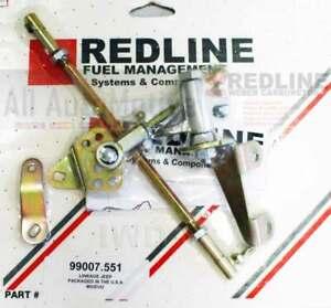 JEEP CJ7 Wrangler Cherokee 4.2 Redline Linkage kit for WEBER DGV, DGEV, or DGAV