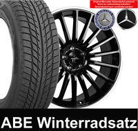 "4x 17"" ABE Keskin KT15 AMG Design Alufelgen + 225 Winterreifen MB CLA Klasse"
