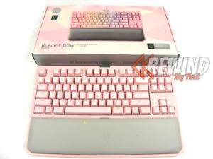 RAZER BLACKWIDOW QUARTZ PINK KEYBOARD, Wired or Wireless RGB