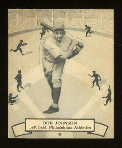 1937 V300 O-Pee-Chee #123 Bob Johnson - Philadelphia Athletics - Tough