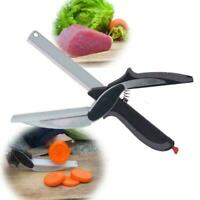 2-In-1 Kitchen Shears With Built-in Cutting Board Multifunction Scissors M1A2