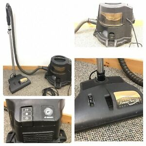 Rainbow E Series Vacuum Cleaner, Power Head Hose, Basin, Dolly Gold Tested E2