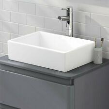 Designer Alicia Counter Top Rectangular Sink wash basin Sit On Basin