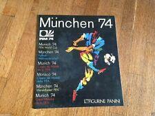 Album figurine PANINI MUNCHEN 74 Leer Empty Vide copy sticker wc wm 1974 cup 70