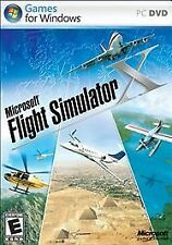 Microsoft Flight Simulator X Standard PC DVD Windows PRE OWNED Flight Sim