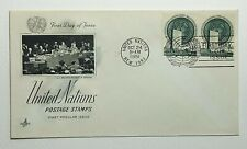 1951 FDC United Nations First Day of Issue New York Postmark Artcraft 1-1/2 Cent