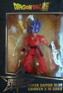 Dragon Ball Dragon Stars Series Super Saiyan Blue Kaioken X 10 Goku Figure,35855