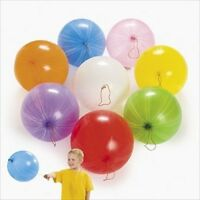 """25 PUNCH BALLOONS EXTRA LARGE - ASSORTED COLORS - 16"""" - Genuine Celebrity NEW"""