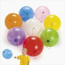 """Genuine Celebrity 25 PUNCH BALLOONS EXTRA LARGE - ASSORTED COLORS - 16"""" - NEW"""