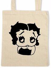 Betty boop coton fourre-tout/shopping/sac d'épaule * choix de couleurs *