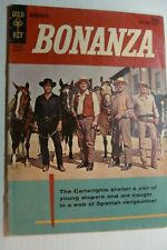 🎈BONANZA 1962 Gold key Comic Book #1 FIRST ISSUE vintage silver age tv western