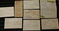 Vintage Handwritten and Clipped Recipes (chicken, turkey pilaf, etc) circa 60s-7