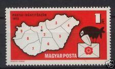 Hongrie 1973 SG # 2766 codes postaux neuf sans charnière