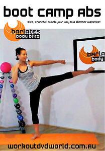 Toning, Body Sculpting EXERCISE DVD - Barlates Body Blitz - BOOT CAMP ABS!