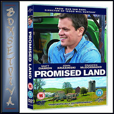 PROMISED LAND - Matt Damon & Frances McDormand   **BRAND NEW DVD **