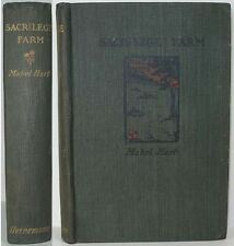 1902 SACRILEGE FARM BY MABEL HART A MYSTERY CRIME NOVEL   IN OXFORDSHIRE VILLAGE