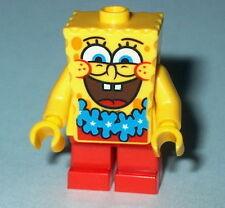 """SPONGEBOB #20 Lego Spongebob """"BIG SMILE BLUE LEI"""" NEW Genuine Lego 3818"""