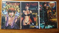 Chastity 1-3 Complete Set 1997 Chaos Comics High Grade Comic Book RM13-82