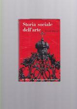 Hauser - Storia sociale dell'arte III Rococò Neoclassicismo Romanticismo R