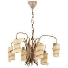 Lampadari da soffitto oro ottone da 4-6 luci