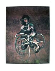 Francis Bacon Georges A Bicyclette Offset Lithograph Edition of 500