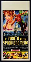 L108 Plakat die Pirat die Sperber Schwarz Lokos Bardot Aureli Bottin