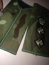 1 x Genuine British Army Regiment colonel? Rank Slide new