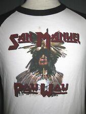 San Manuel Kalifornien POW WOW Erwachsene kleine weiße T-Shirt (S Mission Pala marango)