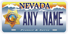 LVMPD Nevada Novelty Car Auto License Plate