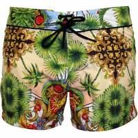 VERSACE ICONIC Luxe MEN/'S Swim Pantaloni corti Giallo Fluo