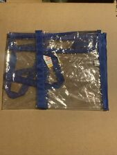 "Clear Large Poster Storage Bag 30""×23"" Bulletin Board Holder Beach Tote New"